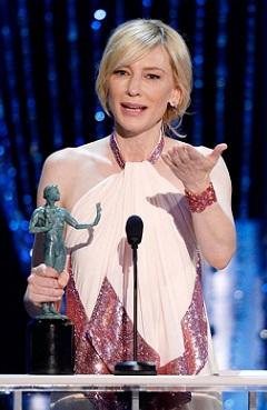 Cate Blanchett, mais uma vez vitoriosa por Jasmine