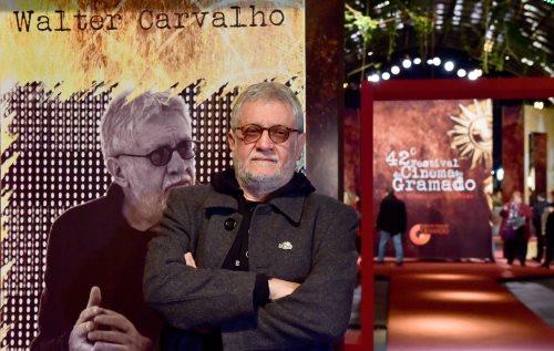 Walter Carvalho teve sua obra celebrada pelo troféu Eduardo Abelin. Foto: Cleiton Thiele/Pressphoto