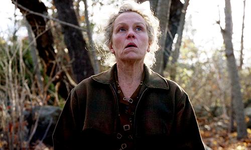 Como a protagonista Olive Kitteridge, Frances McDormand tem a melhor chance de sua carreira em anos