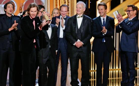 O excelente O Grande Hotel Budapeste desbancou Birdman na categoria de melhor filme comédia/musical ganhando força na temporada de premiações